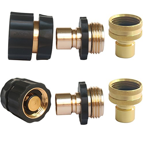 Hose Coupling Quick Connector - 4