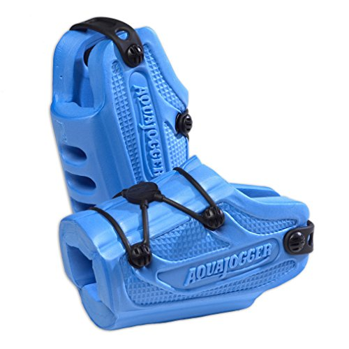 Aqua Jogger Aqua Runners Resistance Foot Weights by Excel Sports Science