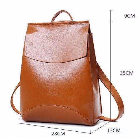 Mefly Estate marca zaino Vintage donne pelle Pu Donna nello zaino di alta qualità Scuola Softback sacchetti per adolescenti Borgogna,Cina