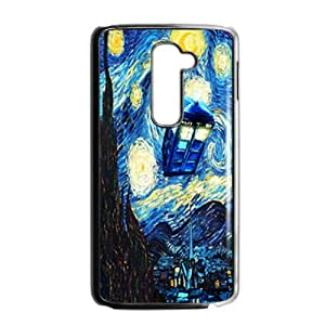 Doctor Starry night painting Who Cell Phone Case for LG G2