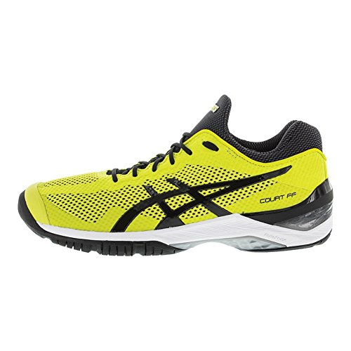 Black Adult FF Springs Asics Unisex Shoes Court Sulphur R0ZZavWc