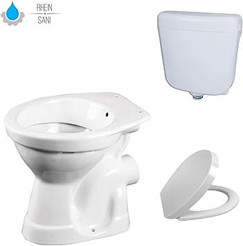 Taharet - Bidé para inodoro, con cisterna y tapa: Amazon.es: Bricolaje y herramientas