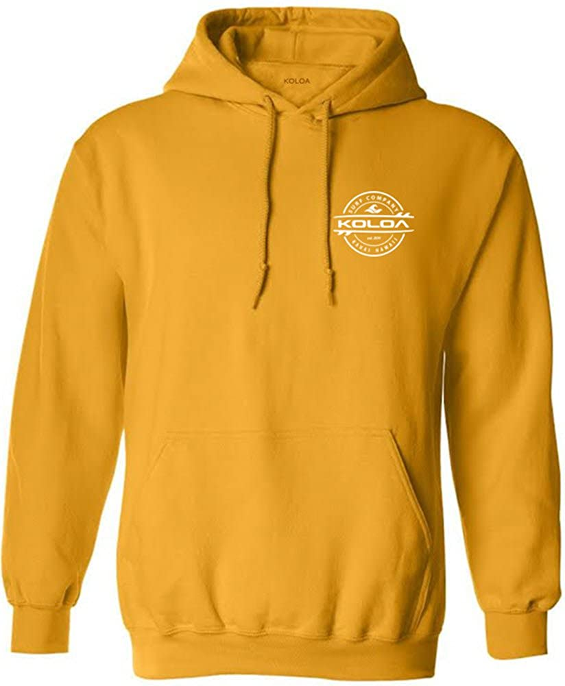 Joe's USA Koloa Surf Co. Thruster Surfboard Logo Hoodies - Hooded Sweatshirts in Sizes S-5XL USALTS7152016737