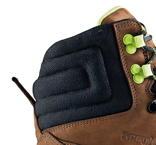 PROTEQGame Stiefel S3 SRA HRO - Zapatos de Seguridad Unisex adulto Marrón - marrón (marrón)