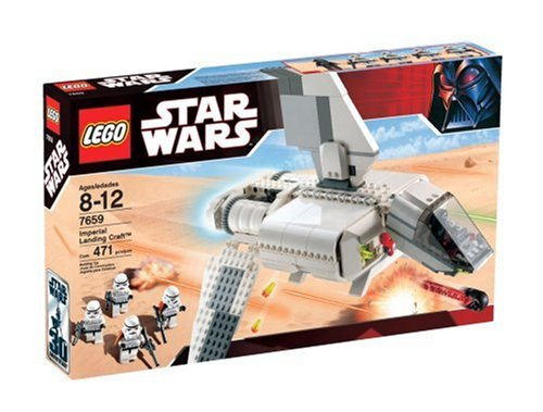 Amazoncom Lego Star Wars 7659 Imperial Landing Craft Toys Games