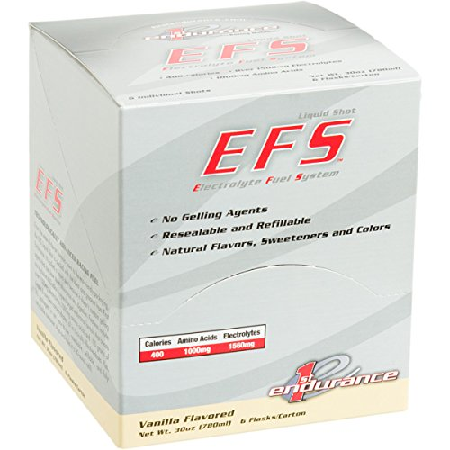 First Endurance EFS Liquid Shot – 6 Pack One Color, Kona Mocha Review