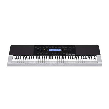 Casio WK-240 - Teclado MIDI (Botones, Corriente alterna, Batería, DC