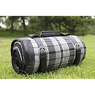 Picnic Blanket Waterproof Extra Large   Beach Blanket Sand Proof Oversized Waterproof   Great Festival Blanket and Picnic Mat   Water Resistant Heavy Duty Wet Lawn Blanket Backing for Outdoor Picnics : Garden & Outdoor