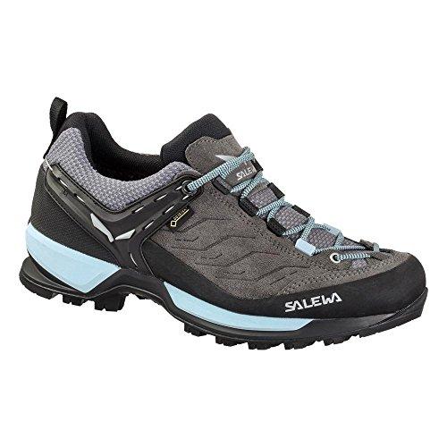 Salewa Ws Mtn Trainer Gtx, Zapatillas de Senderismo Mujer Gris (Charcoal/Blue Fog 0816)