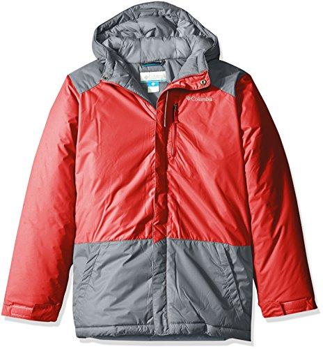 Columbia Jacket Game (Columbia Big Boys' Lightning Lift Jacket, Mountain Red, Large)