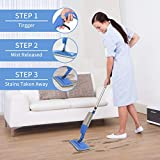 Bellababy Spray Mop and Glass Wiper,Microfiber Mop