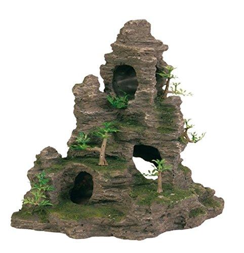 Trixie 8859 Felsformation Höhle/Pflanzen, stehend 31 cm