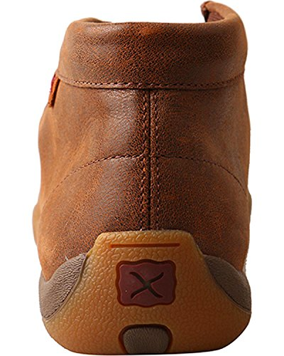 Twisted X Womens Driving Moc Shoes Toe - Wdm0079 Marrone