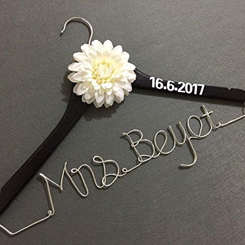 Custom Wedding Hanger Personalized Bridesmaid product image