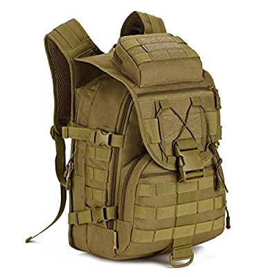 Protector Plus Tactical Military Backpack Gear 600D Nylon Sport Outdoor Assault Pack Rucksack Molle Bag For Hunting Camping Trekking Travel