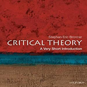 Critical Theory: A Very Short Introduction  Audiobook
