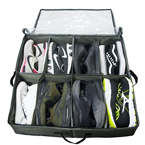 How Long To Read ACMETOP Built In Structure Under Bed Shoe Storage, Space  Saver Organizer, Fit Menu0027s Size 12 Sneaker (Max Size 13) U0026 Womenu0027s 4u0027u0027  High Heeled ...