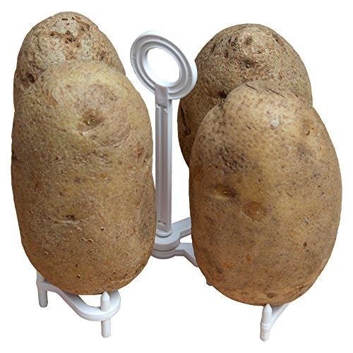 Home-X Microwave Baked Potato Rack (Rack Potato)