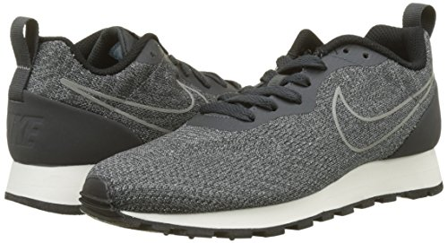 Nike Women's Md Runner 2 Eng Mesh Trainers, Grey Grey (Anthracite/Anthracite-black-sail 001)