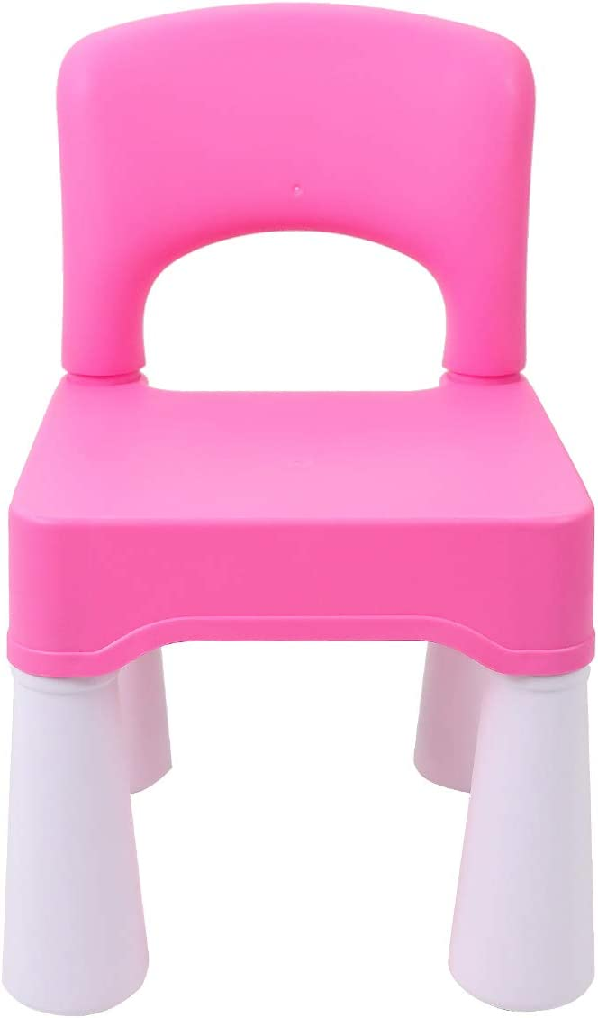 Plastic Kids Chair, Durable and Lightweight, 9.65