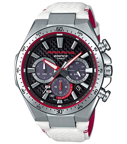 Casio EDIFICE EQS-800HR-1AJR Honda Racing Limited Edition Solar Wristwatch (Japan Domestic Genuine Products)