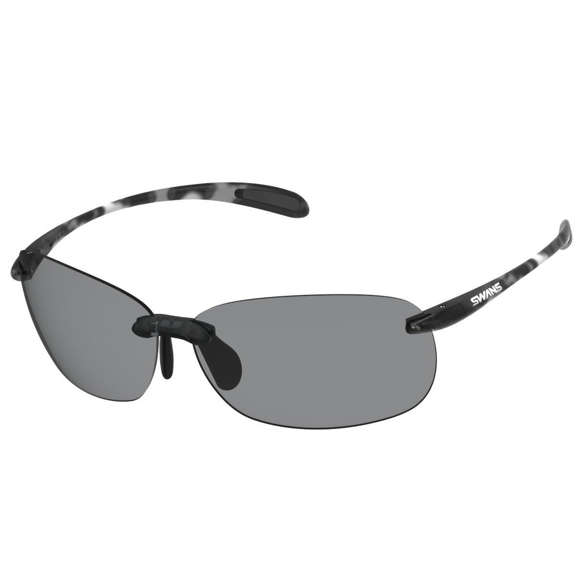 SWANS(スワンズ) 日本製 スポーツ サングラス エアレスビーンズ Airless Beans 軽量アウトドアモデル SABE (ウォーキング アウトドア トレッキング ドライブ 用) B00JK5QJT2 デミスモーク/調光レンズ(スモークtoクリア) デミスモーク/調光レンズ(スモークtoクリア)