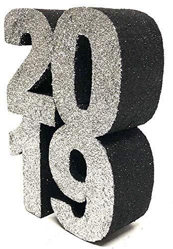 2019 Styrofoam Centerpiece (Silver/Black)]()