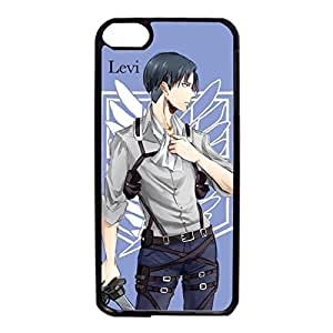 Ipod Touch 6th Generation Cover Case Anime Attack on Titan Elegant Durable Shell Case With Levi/Rival Pattern