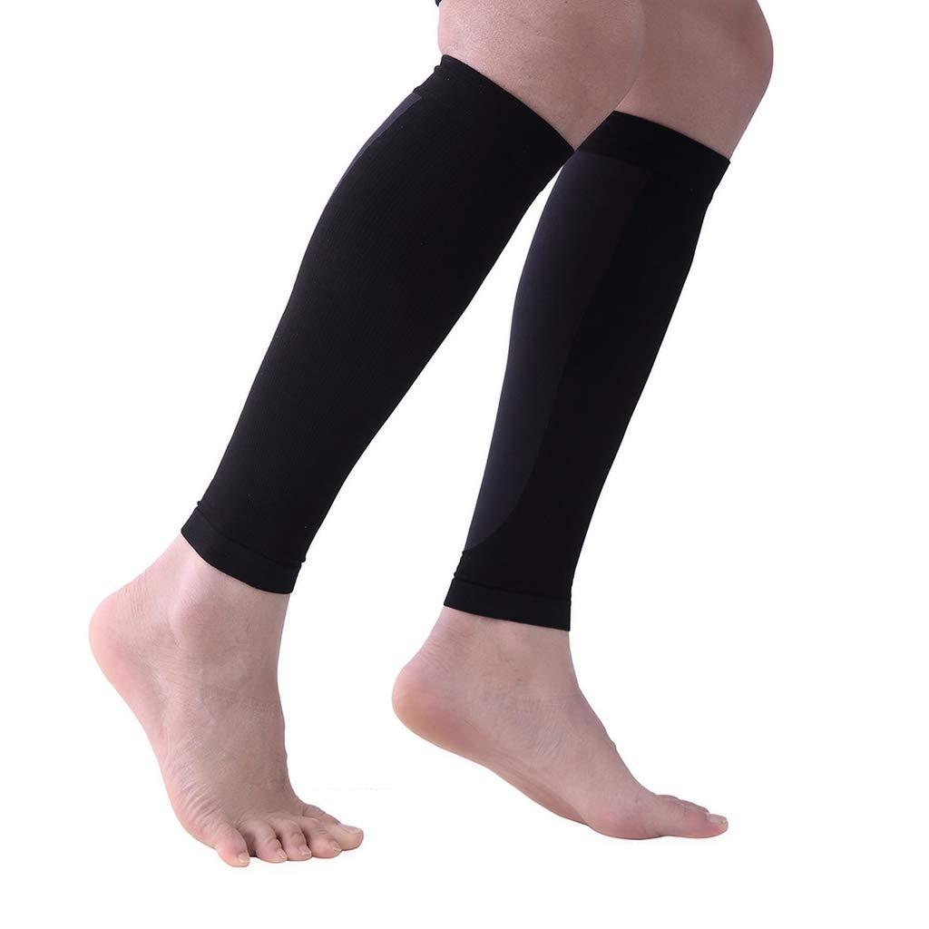 f/ür die Wadenmuskulatur zur Verletzungsprophylaxe Fenteer Kompressionsstulpen f/ür L/äufer Calf Sleeve//Compression Socks//Beinlinge Kompression