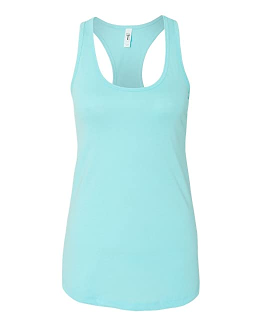 0a809c408b1a8 Next Level Apparel Women's The Ideal Quality Tear Away Tank Top