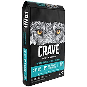 Crave Grain Free With Protein From Salmon And Ocean Fish Dry Adult Dog Food, 22 Pound Bag 111