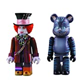 Medicom Alice in Wonderland: Mad Hatter Kubrick and Cheshire Cat Bearbrick Set