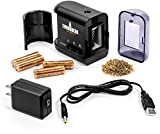 Evergreen Art Supply Electric Pencil Sharpener with Adjustable Sharpness for Standard and Colored Pencils, Artists, Black