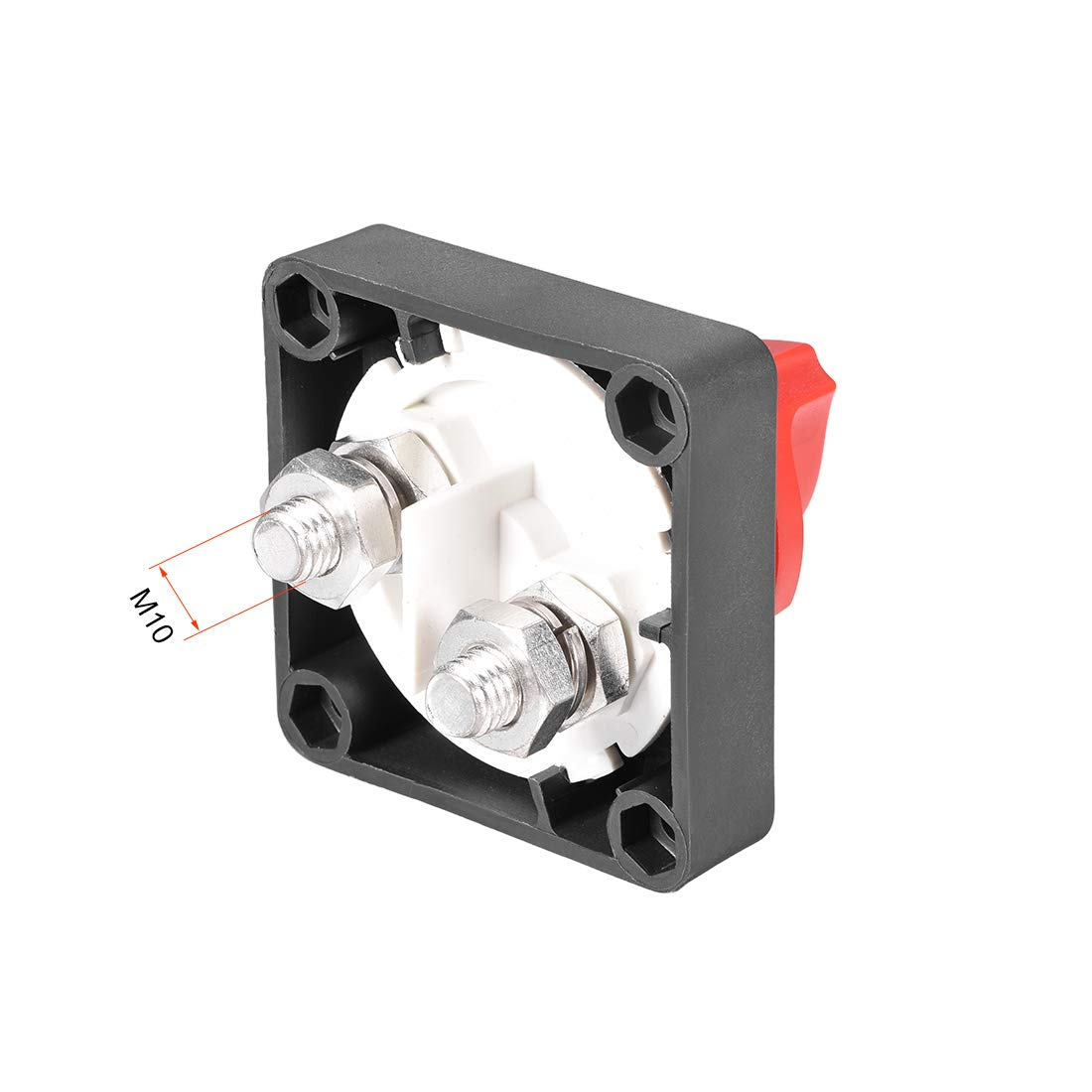 uxcell/® Rotary Battery Disconnect Switch Isolator Cut OFF Battery Power Switch DC 12-24V//400A ON//OFF for Marine Car Boat RV ATV Vehicles W Cement Resistance