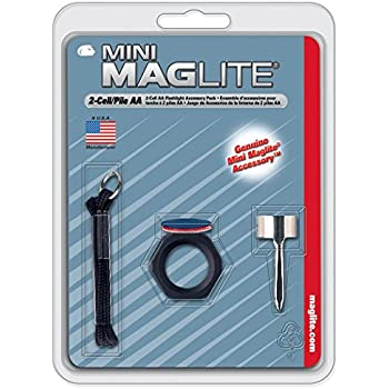 Maglite Mini Incandescent 2-Cell AA Flashlight with