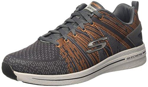 Skechers Mens Burst 2.0 - In De Mix Ii Casual Schoen Grijs (ccor)