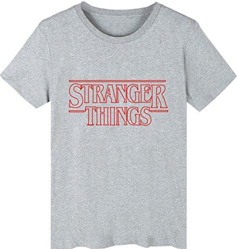 E Shirt T Hop 3 shirt Unisex Uomini Tshirt Donne Stranger Hip T Seraphy Things Grigio Per Estate q1Rwzq6