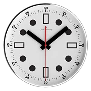 Oliver Hemming Retro Wall Clock