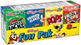 Fun Pack Breakfast Cereal - Kellogg's (Pack of 36)