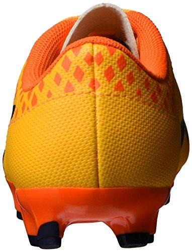 Puma Evopower Vigor 4 AG Jr, Botas de Fútbol Unisex Niños Ultra yellow-Peacoat-Orange clown fish