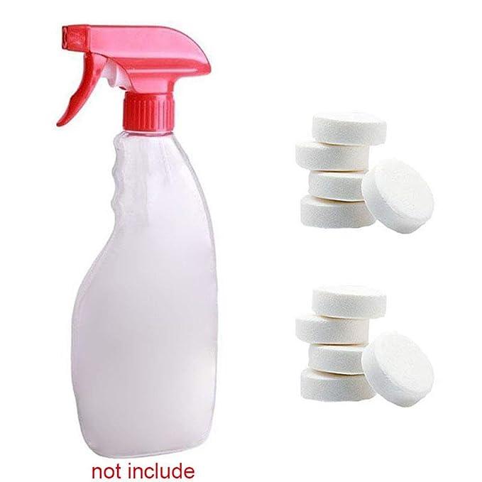 Majome 1/5 / 10Pcs Multifuncional Efervescente Spray Cleaner Concentrado Herramienta de Limpieza del hogar