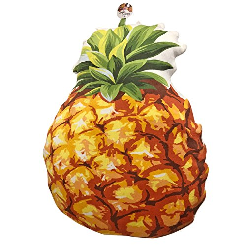 Fun And Soft Novelty Food Throw Pillows (Pineapple)
