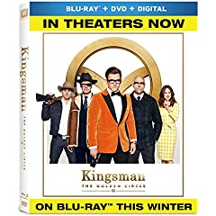 KINGSMAN: THE GOLDEN CIRCLE arrives on 4K Ultra HD, Blu-ray and DVD December 12 from Fox