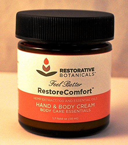 Restore-Comfort-100-mg-Hemp-Oil-Extract-Warming-Hand-Body-Hemp-Extract-Essential-Oil-Relief-Cream-50ml-Restorative-Botanicals