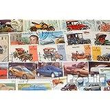 Motives 50 différents voiture et véhicules à moteur Timbres (Timbres pour les collectionneurs)