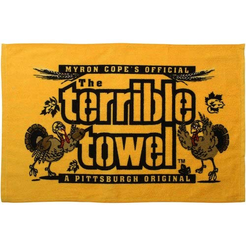 Pittsburgh Steelers Myron Cope's Official Terrible Towel Thanksgiving Edition - New with Tags