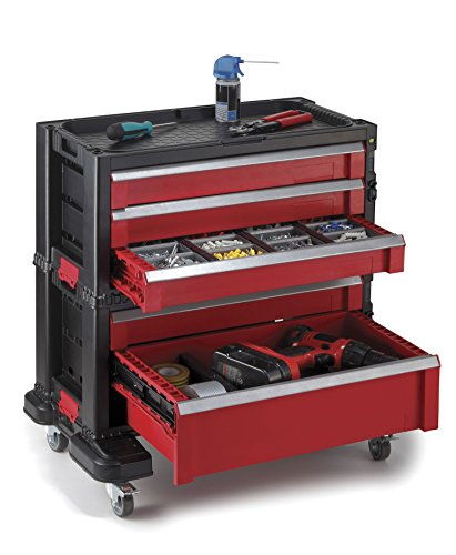 Keter 5 Drawer Modular Garage And Tool Organizer And