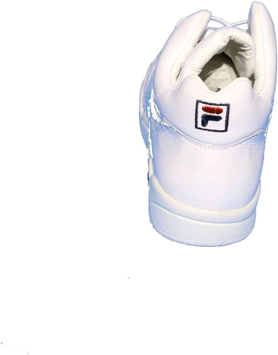 Fila Pine Mid Chaussure Homme Blanc Taille 40: