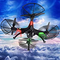 MD Group RC Quadcopter 6-Axis Gyro 2.4Ghz Remote Control with 2MP HD Camera Syma X8C