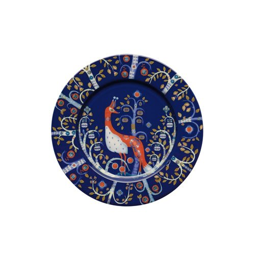 - Iittala Taika Salad Plate, Blue, 8-1/2-Inch